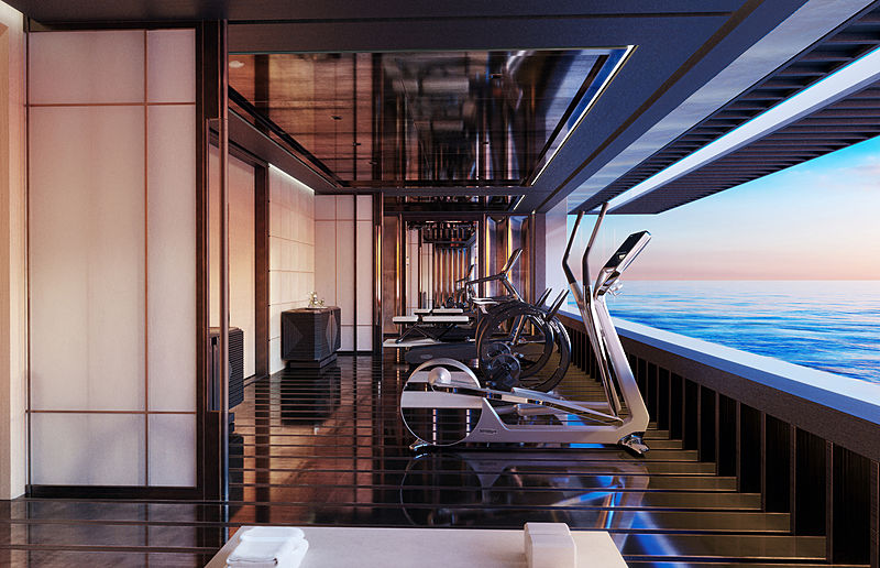 AQUA super yacht hydrogen