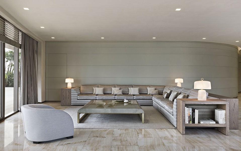 living room armani casa