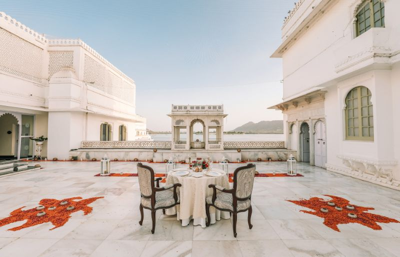 Taj Lake Palace Udaipur India