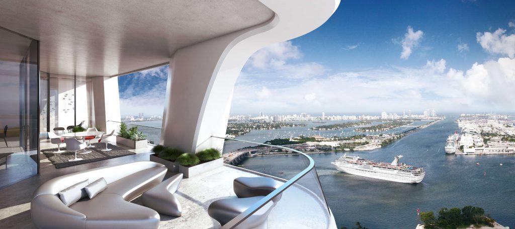 Zaha Balcony One Thousand Museum Miami