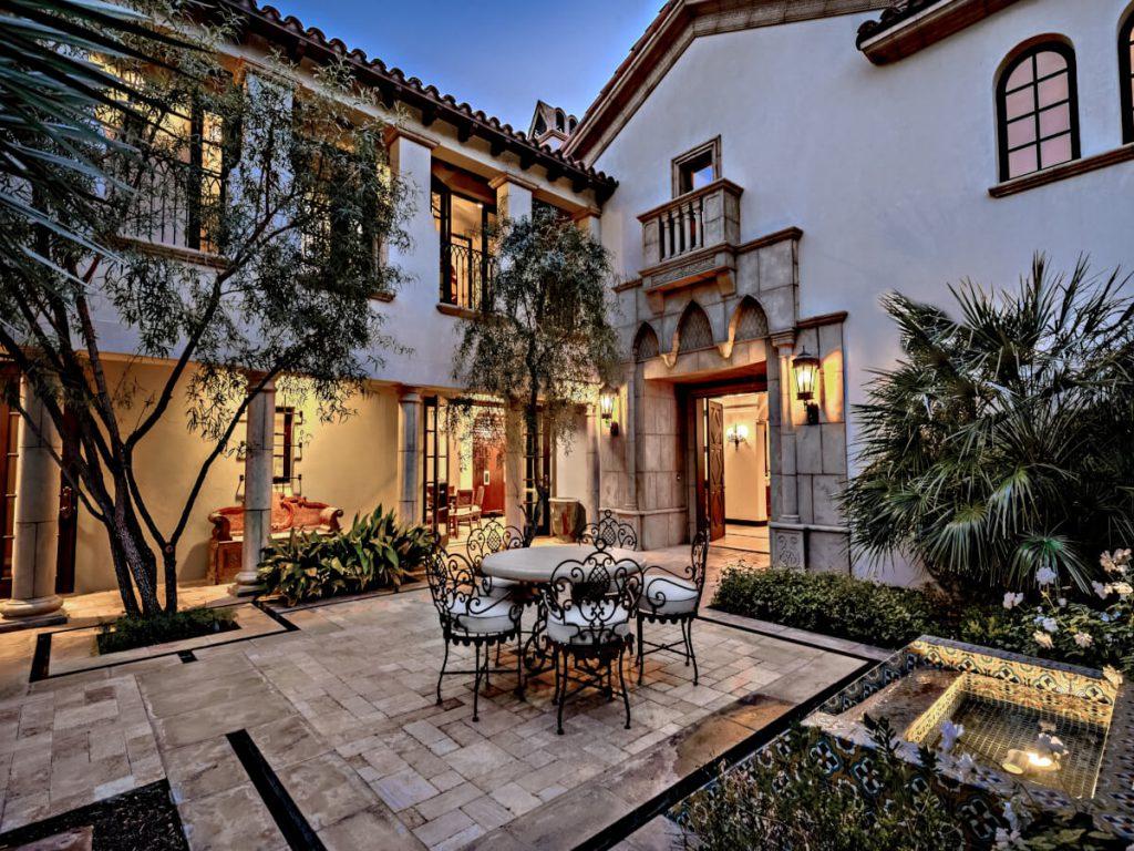Sylvester Stallone's Stunning La Quinta Mansion