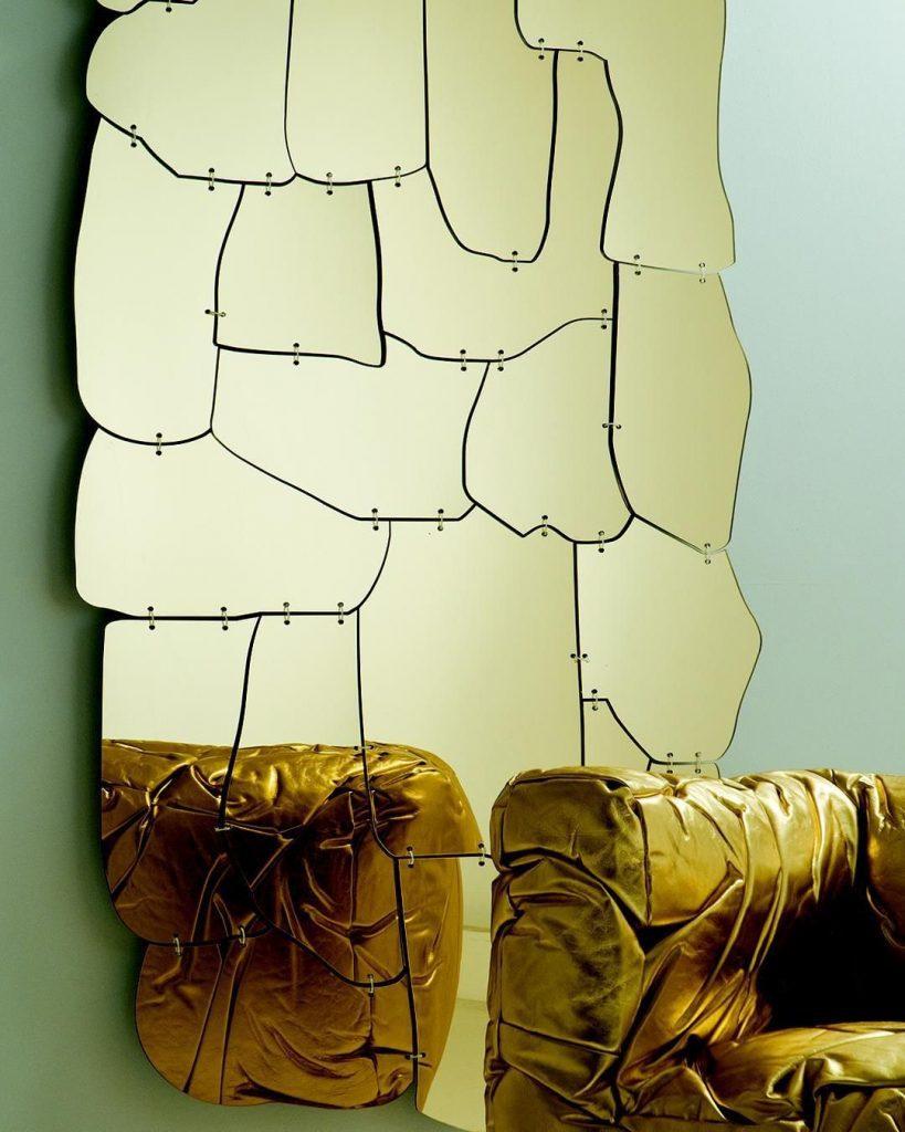 Miraggio Mirror by Edra Designed by Campana Brothers