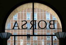 borsa(archivio) - P.zza Affari Palazzo della Borsa - Fotografo: tamtam