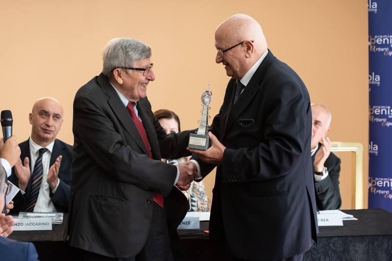 Premio Penisola Sorrentina 2019 Enrico Scotti e Raffaele Lauro
