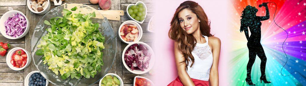Ariana Grande e la dieta vegana